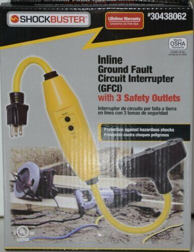 ShockBuster 30438062 Inline Ground Fault Circuit Interrupter