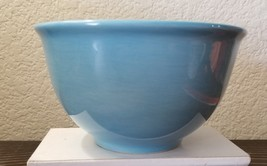Tabletops Unlimited ESPANA Sky Blue Cereal Ice Cream Soup Bowl Paintbrush - $23.99