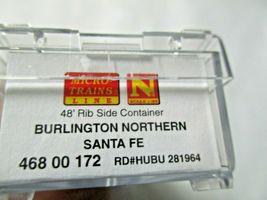 Micro-Trains # 46800172 Burlington Northern Santa Fe 48' Rib Side Container (N) image 4