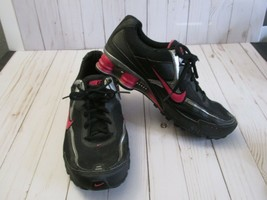 B(2009) Nike Shox Classic Black / Pink Training Sneakers #370838-061 US ... - $74.24