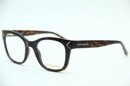 New Tory Burch Ty 4003 1378 Havana Eyeglasses Authentic Frame Rx TY4003 49-19 - $80.41