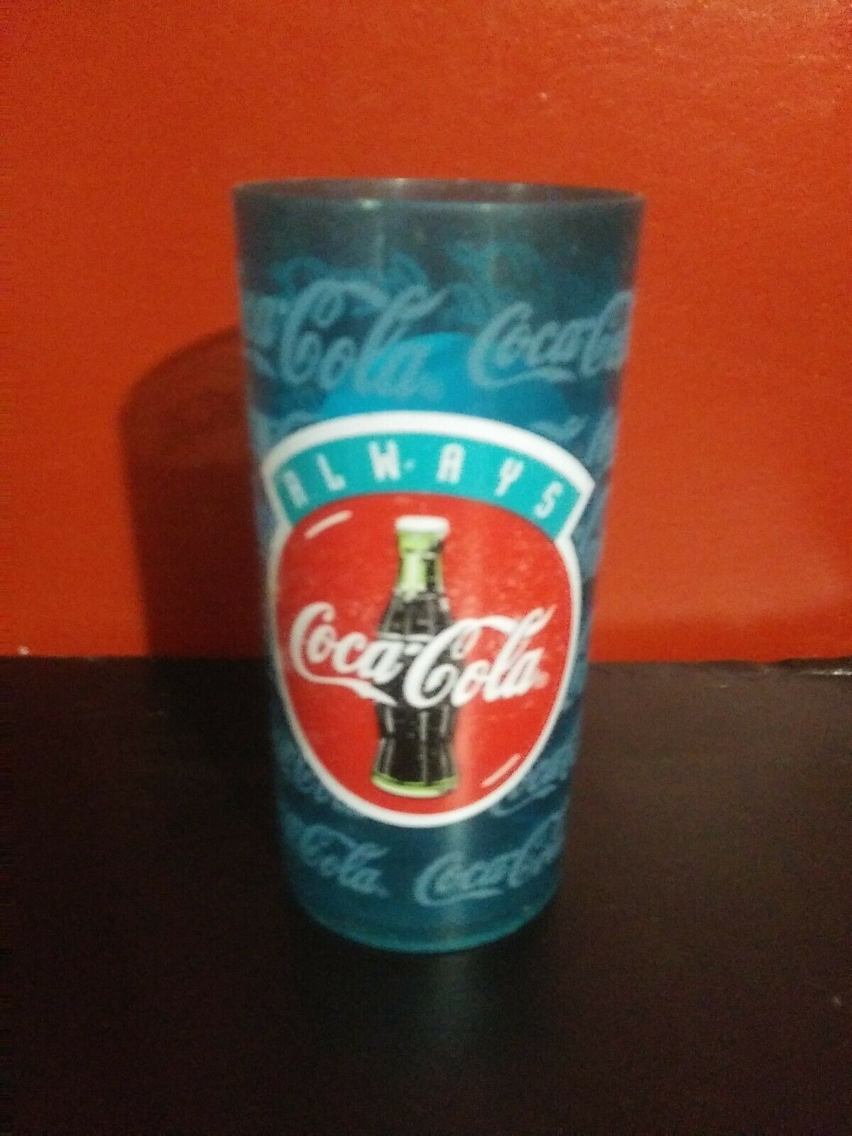 "Primary image for COCA COLA Vintage PLASTIC TUMBLER 6.25"" tall...FREE SHIPPING"
