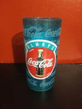 "COCA COLA Vintage PLASTIC TUMBLER 6.25"" tall...FREE SHIPPING - $5.05"
