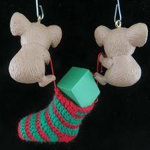 Vintage Koala Christmas Stocking Ornament Hallmark Keepsake 1990 image 6