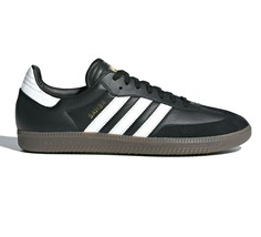 Adidas Samba FB Core Black White Mens Sneakers Size 10 - $79.95
