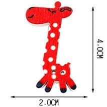 Set of 40 Baby Sweater Buttons Cartoon Decorative Buttons, Giraffe(Rando... - £10.28 GBP