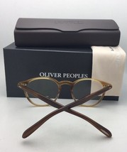 New Oliver Peoples Eyeglasses Elins Ov 5241 1369 48-20 145 Rust Gradient Frame - $339.95
