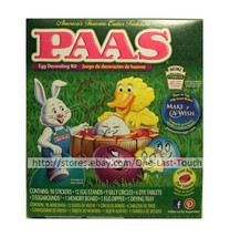 PAAS* 123pc Easter Egg CLASSIC Stickers DECORATING KIT Red+Teal+Blue+Yel... - $2.99