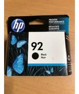 Genuine HP 92 Black Ink Cartridge (C9362WN) Jan 2017 - $7.70