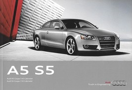 2012 Audi A5 S5 sales brochure catalog US 12 2.0T 3.0T 4.2 - $10.00