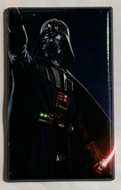Star Wars Darth Vader Light Switch Power Outlet Wall Cover Plate Home Decor image 3