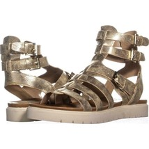 G by GUESS Mexico Gladiator Sandals 213, Gold, 7.5 US - $29.75