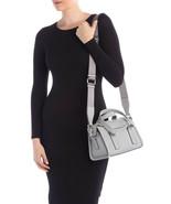 New MARC JACOBS WELLINGTON Mini Gray Satchel Crossbody Strap Bag - $249.00