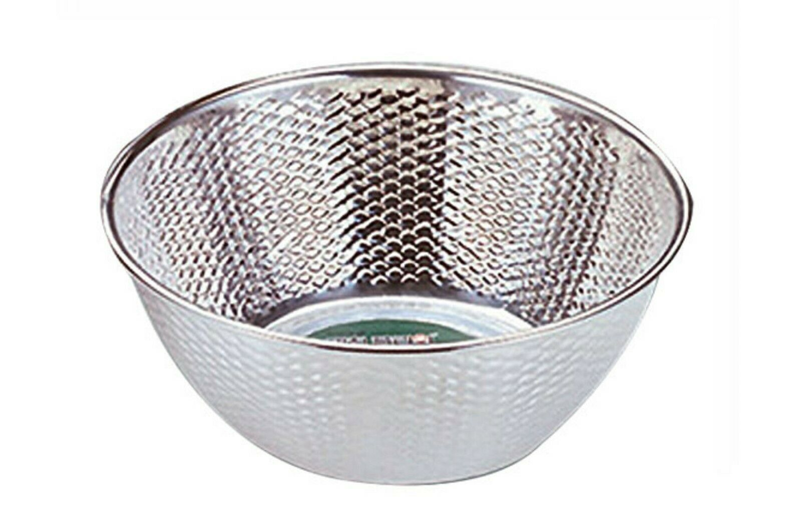 "Kitchen Flower Stainless Steel Embossing Rice Washing Bowl Basket Basin (11.8"")"