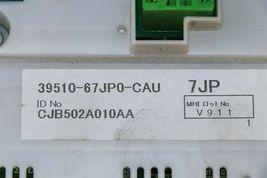 06 Suzuki Grand Vitara Air AC Heater Climate Control Panel 39510-65JP0-CAU image 6