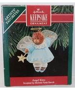 Hallmark Keepsake Ornament Angel Kitty 1990 - $7.92