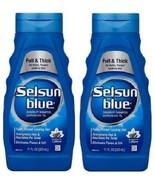 Selsun Blue Full & Thick Dandruff Shampoo 2 Bottle Pack - $26.68