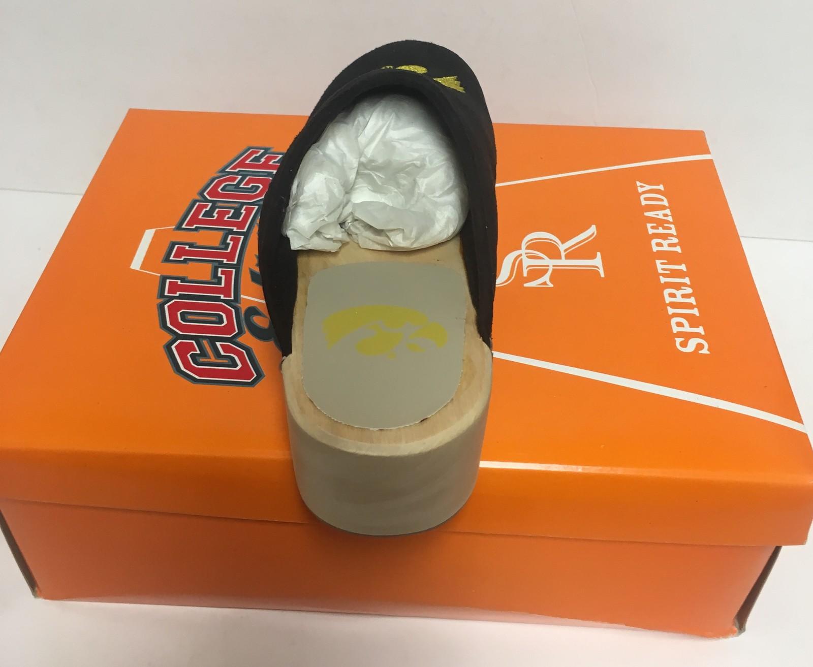 Iowa University Women's Team Shoes Mules Clogs Various Sizes