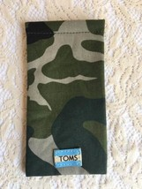 Toms Sunglasses Cloth Camuflage Case Soft Pouch Fall Sleeve New - $24.99