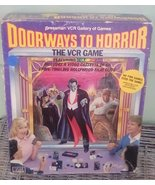 1986 Pressman Doorways To Horror VCR Game.  Vintage Game Complete.  Y-251 - $30.00