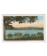 Lake Paugus Lakeport Mt Belknap Gunstock New Hampshire 1941 postcard - $5.94