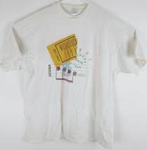 VTG 1994 Woodstock Men's Music Festival Ticket Graphic Spell Out T-Shirt... - $43.56