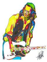 "Johnny Depp, Actor, Guitar, Rock, Actor, Producer, Musician, 18""x24"" Art... - $19.99"