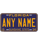 Florida 1954 Any Name Personalized Novelty Car License Plate - $14.80