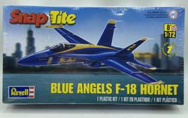 Revell Snaptite Blue Angels F-18 Hornet Model Kit 1/72   Brand New - $22.50