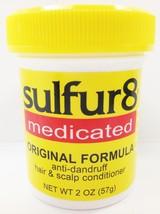 SULFUR 8 MEDICATED ORIGINAL FORMULA ANTI DANDRUFF HAIR & SCALP CONDITIONER 2oz