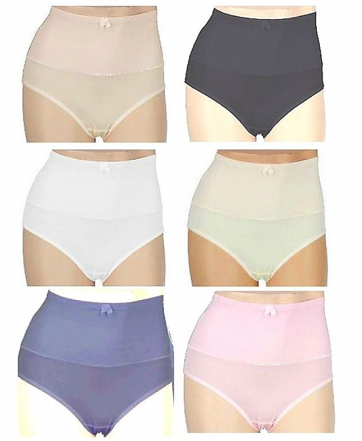 Tummy Control Panty Shaper Smooth Lightweight S 4-6, M 8-10, L 12-14, XL 16-18  - $14.99