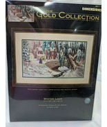 Dimensions Gold Counted Cross Stitch Kit 35111 Winter Lace - $74.95