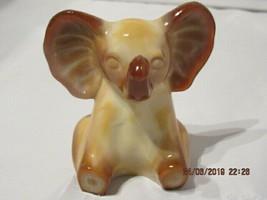 FENTON ART GLASS 2006 CHOCOLATE UNDECORATED ELEPHANT FIGURINE - $59.99