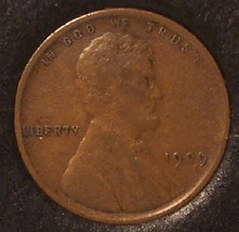 1909 Lincoln Wheat Back Penny EF #0897 - $4.99