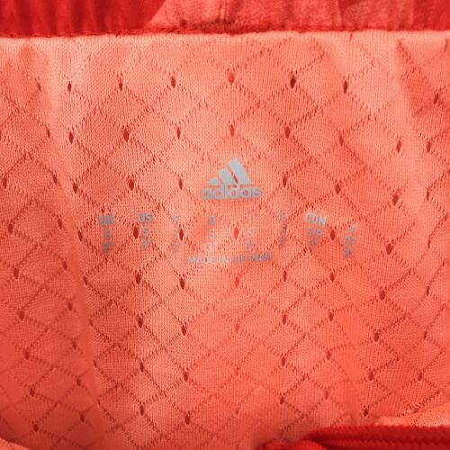 Adidas Donna Activewear Pantaloncini Corsa Misura Piccolo 3 'Rosso Stampa Tirare image 7