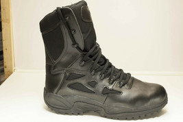"Reebok Safety Toe Men's Rapid Response RB8874 8"" Tactical Boot Size 15 W Black - $89.00"