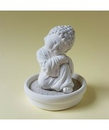 Mindful Buddha 05 with holder,Miniature, Zen/Fairy Garden Supplies DIY A... - $17.82