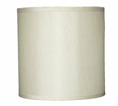 """Urbanest Faux Silk Drum Lampshade, 10"""" x 10"""" x 10"""", Spider Fitter, 6 colors - $19.99"""