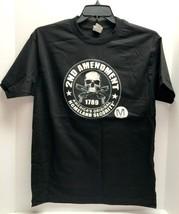 New Medium 2ND Amendment 1789 Homeland Security Black Men's Shirt Alstyle Nwt - $15.99+