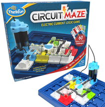 Thinkfun Circuit Maze Electric Current Brain Game And Stem Toy For Boys And Girl - $38.60