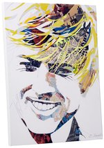 "Pingo World 0713QXCCTCS ""Ines Kouidis Robert Redford"" Gallery Wrapped Canvas Wal - $158.35"