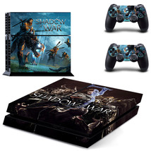 Middle-earth: Shadow of War ps4 skin decal for console and controllers - $15.00