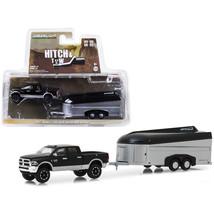 2017 Dodge Ram 2500 4x4 Pickup Truck Black with Silver Aerovault Trailer... - $22.66