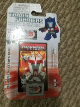 Transformers Prime 30th Anniversary (2014) Figurine & 3D Puzzle Card Ratchet Min - $14.69