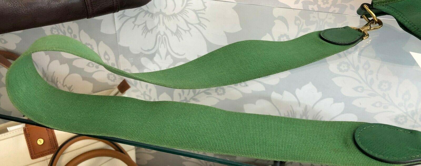 """HERMES Green Classic """"EVELYNE GM"""" Leather Tote/Shoulder Bag $$$$ image 7"""