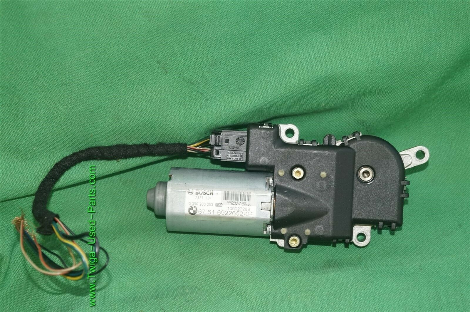 2001-2015 BMW Panoramic Sunroof Drive Motor Front Rear X3 X5 E61 E64