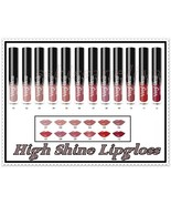 NEW Golden Rose Vinyl Gloss  High Shine Lipgloss Long Lasting 12 Shades - $8.75