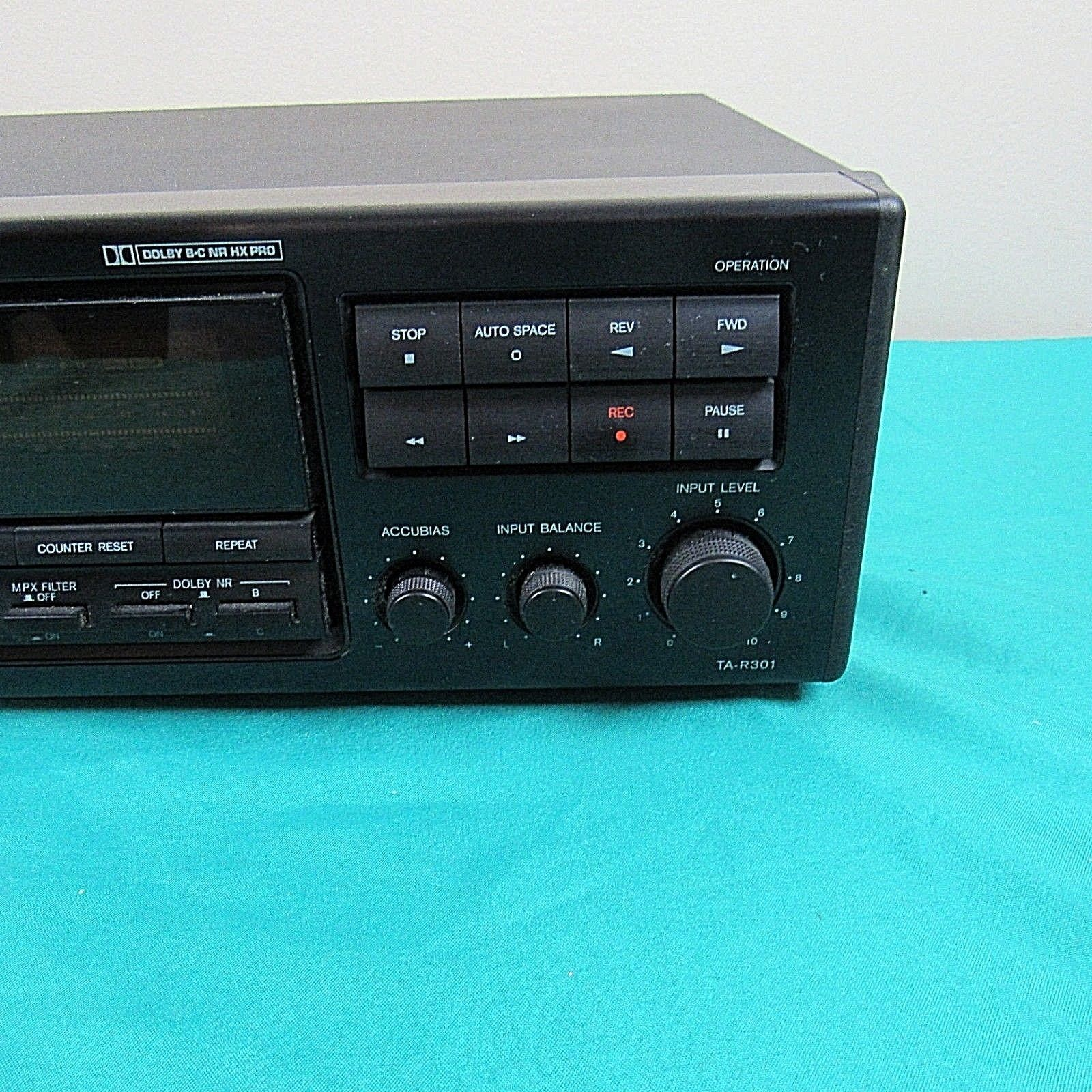 Onkyo TA-R301 Cassette Tape Deck and 50 similar items