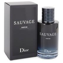Sauvage By Christian Dior Parfum Spray 3.4 Oz For Men - $193.09
