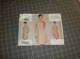 Vogue Pattern 1507 Calvin Klein size 12 14 16 uncut Dress Pattern - $24.00